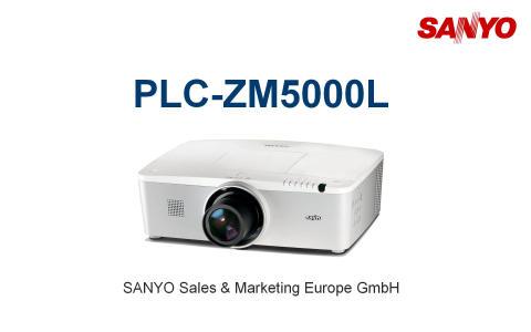 Ongekend SANYO PLC-ZM5000L WUXGA-BEAMER 1920 x 1200 PIXEL INCL SR-89